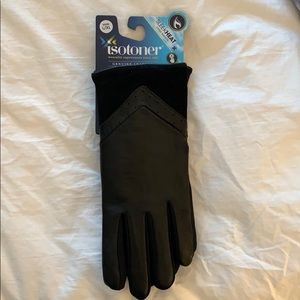 Isotoner leather gloves L/XL